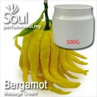Massage Cream Bergamot - 500g