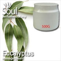 Massage Cream Eucalyptus - 500g