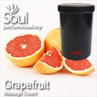 Massage Cream Grapefruit - 1000g