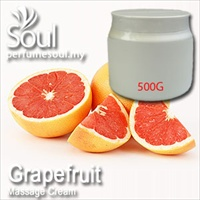 Massage Cream Grapefruit - 500g