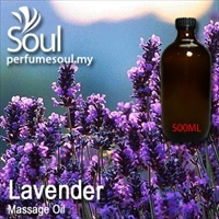 Massage Oil Lavender - 500ml