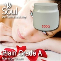 Massage Cream Plain Grade A - 500g
