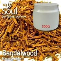 Massage Cream Sandalwood - 500g