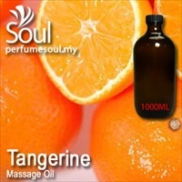 Massage Oil Tangerine - 1000ml