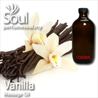 Massage Oil Vanilla - 1000ml